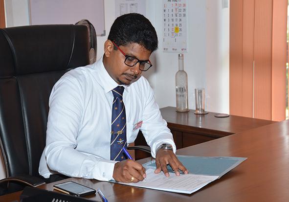 Assuming of Duties as the New Dean of Faculty of Engineering of General Sir John Kotelawala Defence University
